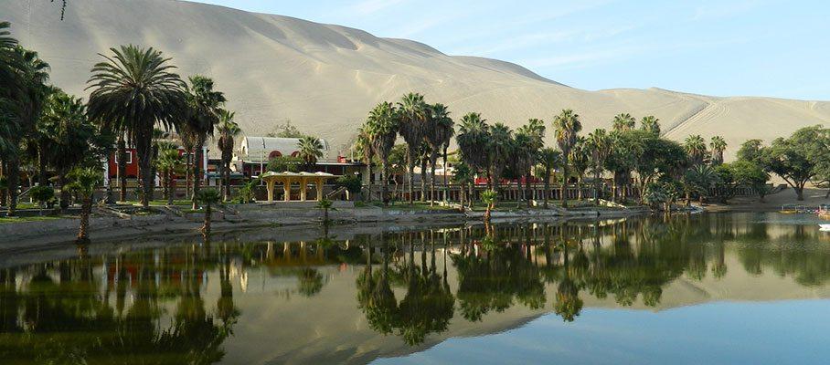 bijzondere reisbestemming Huacachina
