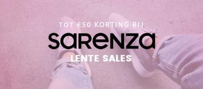 Sarenza lente sale 2017, tot 50 euro korting!