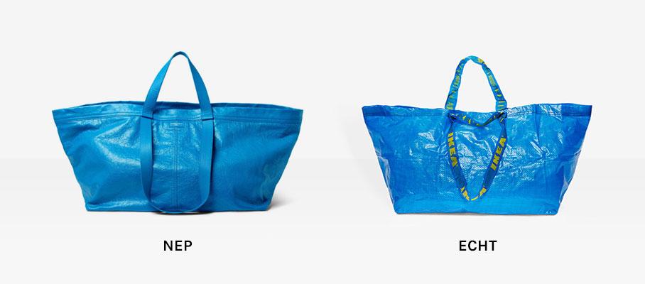 IKEA waarschuwt voor perperdure namaak tas